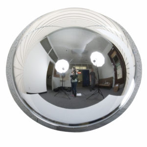Acrylic 360° Hemispheric Safety Mirror