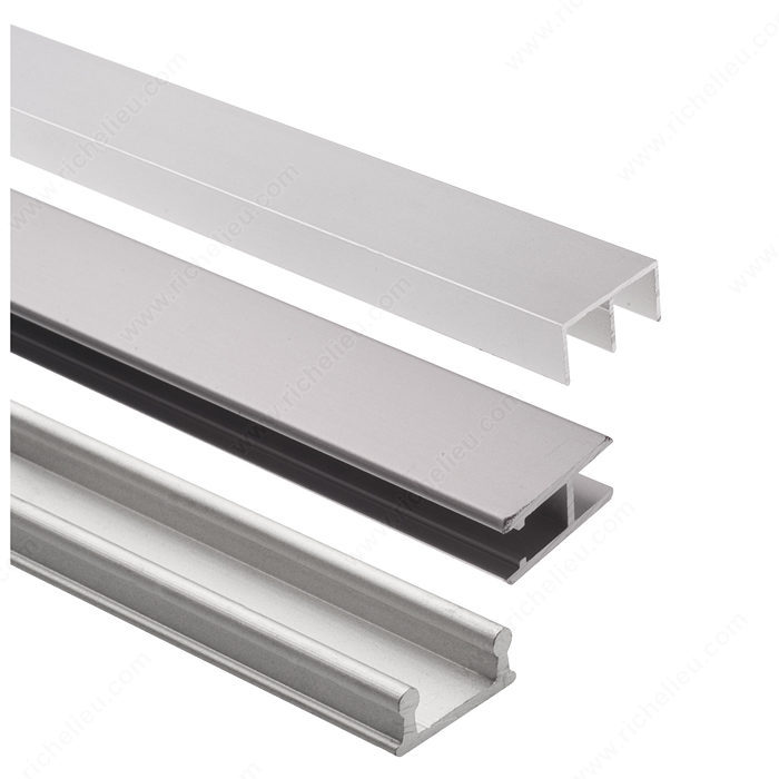 Track Set For Display Glass Sliding Doors