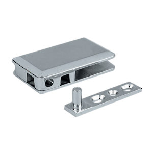 Pivot Hinge for Glass Door Recessed in Cabinet/Furniture