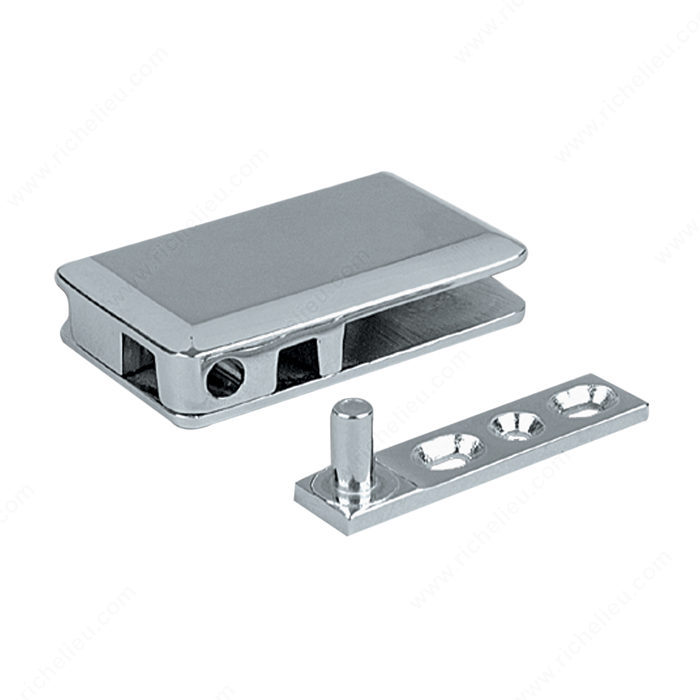 Pivot Hinge For Glass Door Recessed In Cabinet Furniture Richelieu Glazing Supplies
