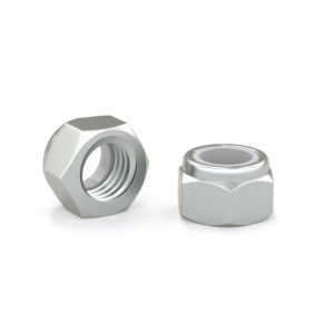 Hex lock nut - Zinc