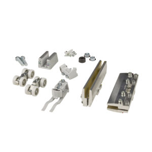 Hardware Set for One Glass Sliding Door, UP/100 kg