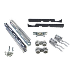 Hardware Set for One Aluminum-Framed Door, 100 kg