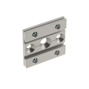Top Fixing Plate for Two Single Upper Tracks