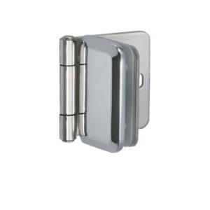 Stainless Steel Hinge For Glass/Acrylic Door Recessed in Furniture/Cabinet