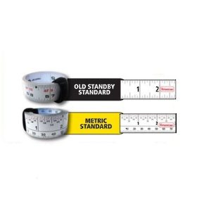 Reversible Improved Peel and Stick Tape Measure