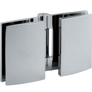 180° Glass-to-Glass Bi-Fold Hinge - Optimum BF Series