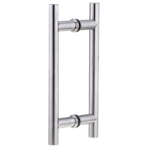 Stainless Steel Back-to-Back Ladder Style Handle, 1'' Diameter