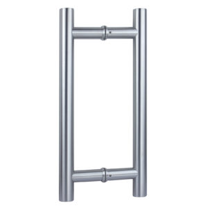 Stainless Steel Back-to-Back Ladder Style Handle, 1-3/16'' Diameter