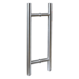 Stainless Steel Back-to-Back Ladder Style Handle, 1-1/4'' Diameter