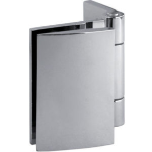 90° Glass-to-Wall Hinge with Offset Back Plate - Optimum BF Series