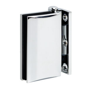 90° Glass-to-Wall Heavy-Duty Hinge - Optimum BF Series