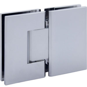 180° Glass-to-Glass standard Hinge - Prime Series