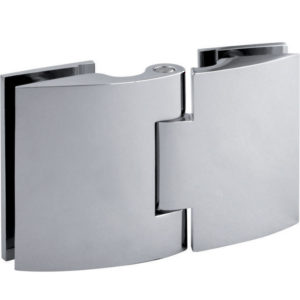 Glass-to-Glass 180° Hinge - Optimum BF Series