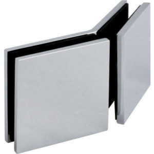 135° Glass-to-Glass Interior Corner Clamp - Square