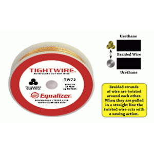 TightWire 3-Strand Braided Windshield Cutting Wire
