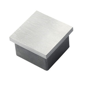 Stainless Steel Square End Cap