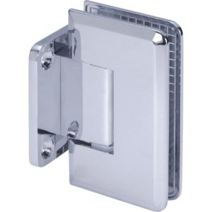 90° Glass-to-Wall Hinge with Short Back Plate - Germany Series