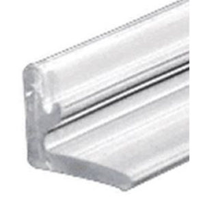 L-Shaped Clear Polycarbonate Wall Jamb