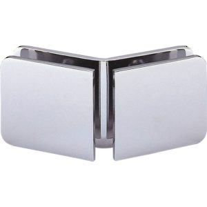 135° Glass-to-Glass Clamp - Rounded