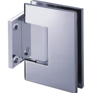 90° Glass-to-Wall Hinge with Short Back Plate - Switzerland Series