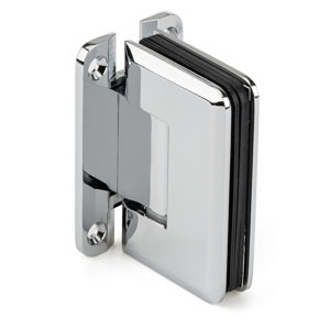 "90° Glass-to-Wall Hinge with ""H"" Back Plate - Golf Series"