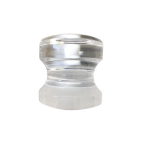 UV Bond Crystal Knob - Single Mount