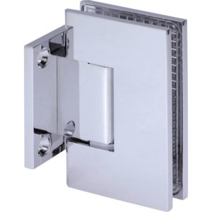 90° Glass-to-Wall Hinge with Short Back Plate - Austria Series