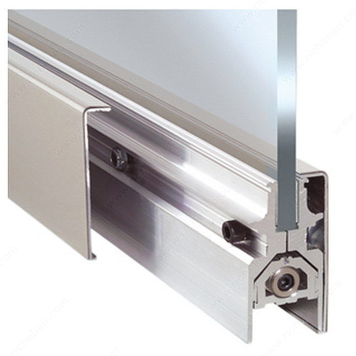 Dorma Drs Door Rail With Lock Richelieu Glazing Supplies