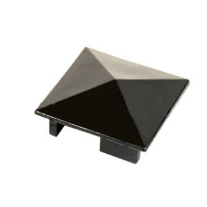 Pyramid Cap for Partition Counter Post