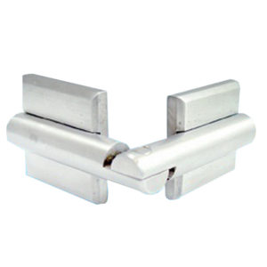Glass-to-Glass Door Hinge