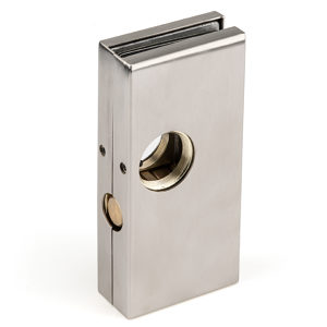 Glass Mounted Dead Throw Center Door Lock
