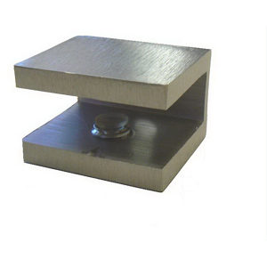 Small Square Glass Shelf Bracket