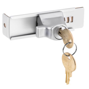 Aluminum Stick-On Showcase Lock