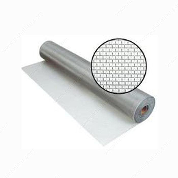 Aluminum Screen Cloth Roll Richelieu Glazing Supplies