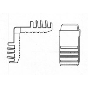 Spacer Straight Connectors