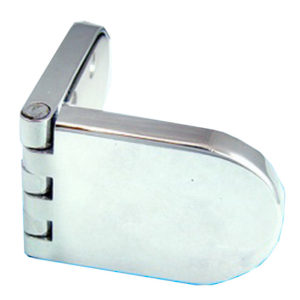 Glass to Glass Door Hinge Rounded Shape