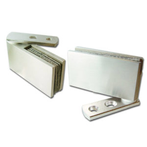 Pivot Hinge for 8 mm Glass Door, Recessed Within Furniture/Cabinet