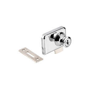Double Door Cabinet Lock For Glass