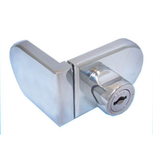 UV Lock and Keeper for Single Inset Door Rounded Shape