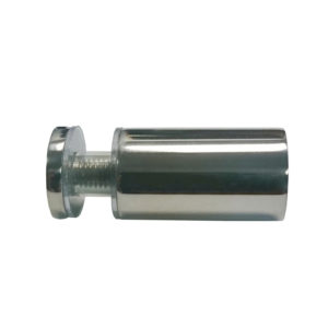 Cylindrical Solid Brass Knob - Single Mount