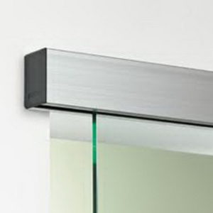 Optima 150 Ceiling Mount Sliding Door System (with Sidelite)