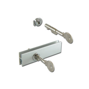 Cabinet Sliding Glass Door Lock for glass rail