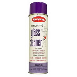 Ammoniated Glass Cleaner