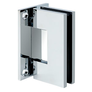 90° Glass-to-Wall Hinge with Full Back Plate - Austria Series
