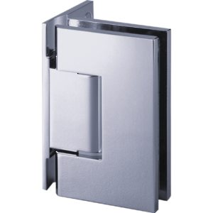 90° Glass-to-Wall Hinge with Offset Back Plate - Switzerland Series