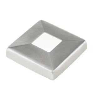 Square Line Baluster Post Trim Cover Plate