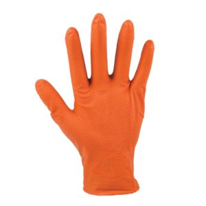 Disposable Nitrile Gloves, 7 mil, Diamond Textured