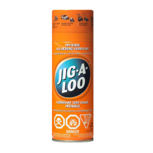JIG-A-LOO The Invisible All Around Lubricant
