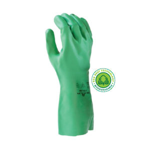 Chemical-resistant Biodegradable Nitrile Gloves